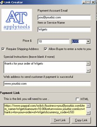 pay pal paypal link creator merchant accounts accept credit cards
